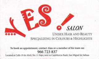 Yes! Salon